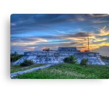 Fort Charlotte in Nassau, The Bahamas Canvas Print