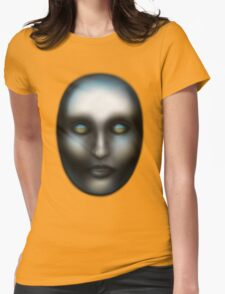Mona Lisa Overdrive Womens Fitted T-Shirt