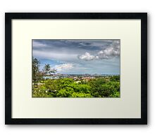 View of Nassau, The Bahamas from Fort Fincastle Framed Print