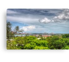 View of Nassau, The Bahamas from Fort Fincastle Canvas Print