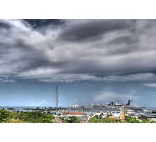 Nassau Harbour from Fort Fincastle - The Bahamas Photographic Print