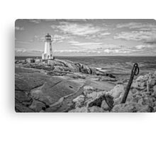 Peggy's Cove Light II Canvas Print