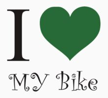 I Green Heart My Bike by Rob Price