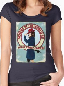 Where in the World... Women's Fitted Scoop T-Shirt