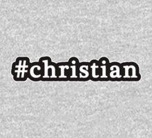 Christian - Hashtag - Black & White One Piece - Short Sleeve