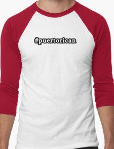Puerto Rican - Hashtag - Black & White T-Shirt