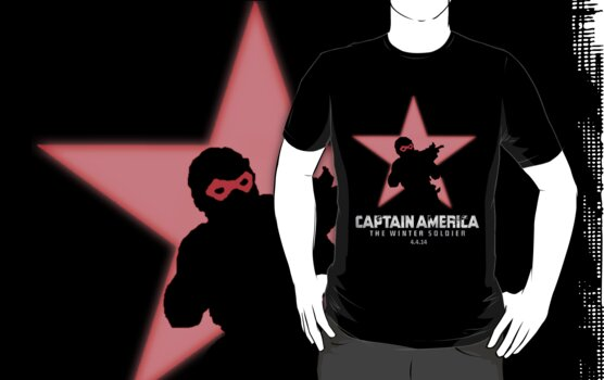 The Winter Solider 2014 Silhouette with TXT by mmatsi