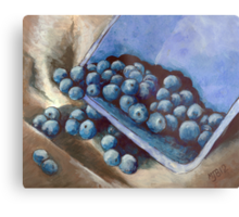 Blueberry Delight Metal Print