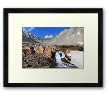 Above Highwood Pass III Framed Print