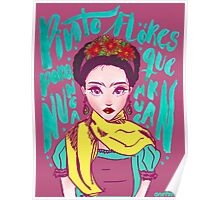 Frida. By Ane Teruel Poster