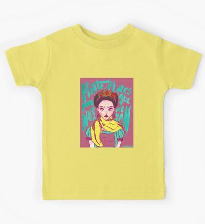 Frida. By Ane Teruel Kids Tee
