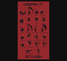"Devil May Cry: ""Keepin it Stylish"" T-shirt. by OriginalO"