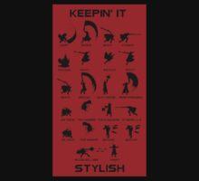 """Devil May Cry: """"Keepin it Stylish"""" T-shirt. by OriginalO"""