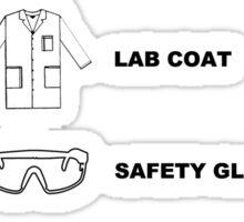 The Scientists Checklist Sticker
