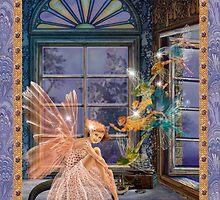 Fairy Dreams greeting card 1 by Carol McLean-Carr