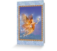 Fairy Dreams greeting card 2 Greeting Card