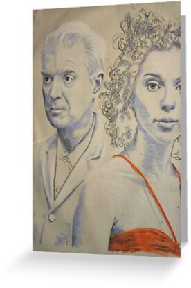 david byrne and st vincent by Peter Brandt