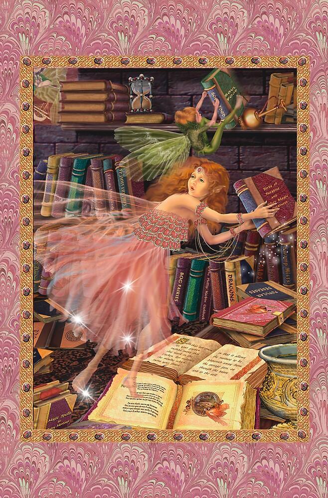 Fairy Dreams greeting card 4 by Carol McLean-Carr