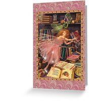 Fairy Dreams greeting card 4 Greeting Card