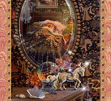 Fairy Dreams greeting card 5 by Carol McLean-Carr