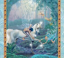 Fairy Dreams greeting card 7 by Carol McLean-Carr