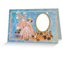 FD card photo frame  Greeting Card