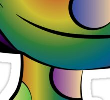 Rainbow Mushroom Sticker