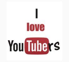 I love youtubers One Piece - Short Sleeve