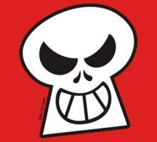 Naughty Halloween Skull One Piece - Short Sleeve