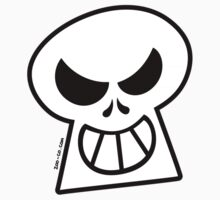 Naughty Halloween Skull Kids Clothes