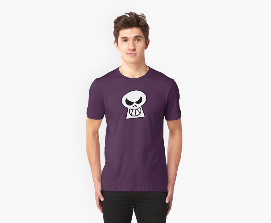 Naughty Halloween Skull by Zoo-co