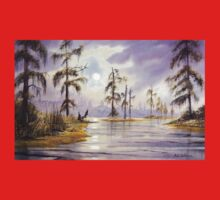 Sunrise Over Wakulla River Florida Baby Tee