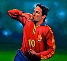 Raul Gonzalez Blanco painting by PaulMeijering