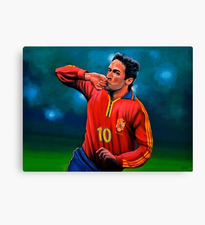 Raul Gonzalez Blanco painting Canvas Print