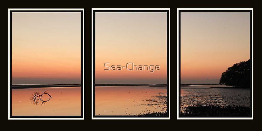 Sunrise Tryptich by Sea-Change