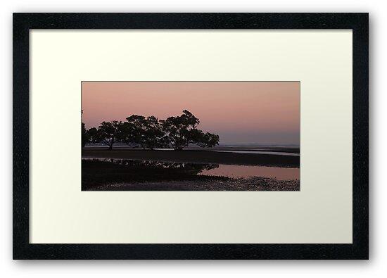 Dawn at Nudgee Beach by Sea-Change