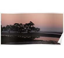 Dawn at Nudgee Beach Poster