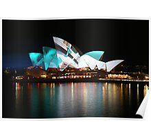 The Opera House - Sydney Vivid Festival Poster
