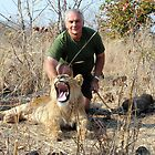 Walking with Lions - Africa. by Alwyn Simple