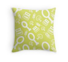 Mayo and Spice Throw Pillow