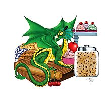 Kitchen Dragon Photographic Print
