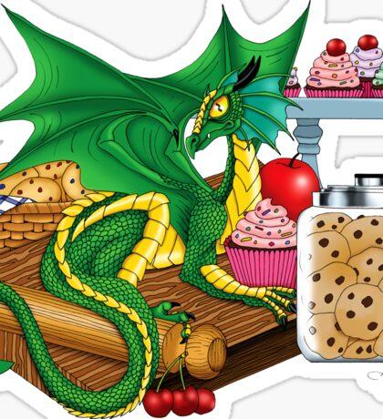 Kitchen Dragon Sticker
