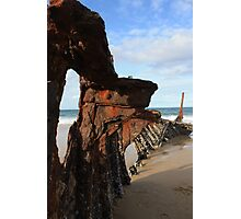 Rusting Ribs Photographic Print
