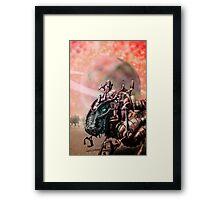 DinoBot Framed Print