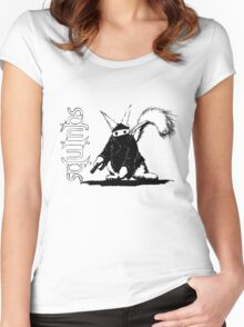Squinjas - Original Theatrical Version Women's Fitted Scoop T-Shirt