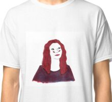 artist autoportrait (lithography is easy) Classic T-Shirt