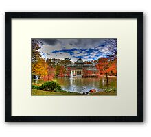 Cristal Palace Autumn Framed Print