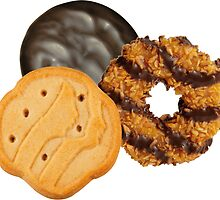 Girl Scout Cookies All Star Team by jaffrywardjr