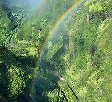 Rainbow over Kauai by kcy011