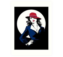 Her name is Agent Art Print